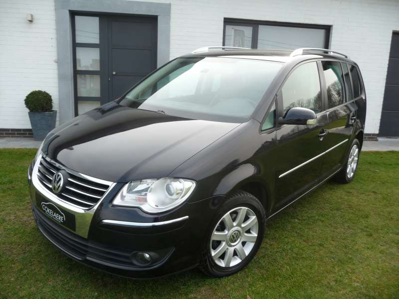 vw touran 1 9tdi full 2007. Black Bedroom Furniture Sets. Home Design Ideas